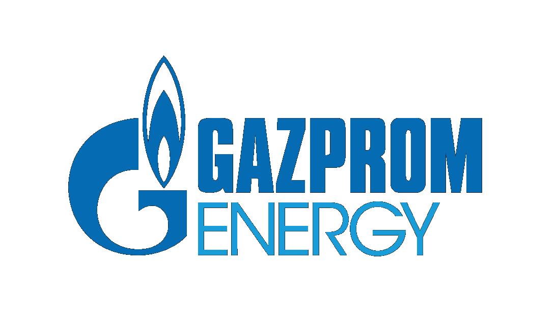 Gazprom energy logo